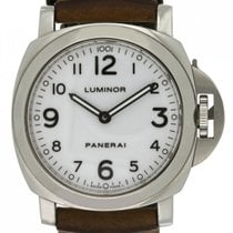 Panerai Luminor Base PAM00114 Very good Steel 44mm Manual winding