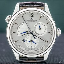 Jaeger-LeCoultre Master Geographic Steel 39mm Silver Arabic numerals United States of America, Massachusetts, Boston