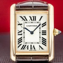 Cartier Tank Louis Cartier Rose gold 23.7mm White Roman numerals