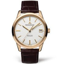 Jaeger-LeCoultre Geophysic True Second Oro rosa 39.6mm Plata Sin cifras