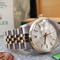 Rolex Datejust Gold/Stahl 36mm Gold Keine Ziffern