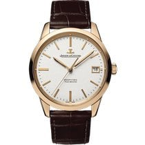 Jaeger-LeCoultre Geophysic True Second Roségold 39.6mm Silber Keine Ziffern