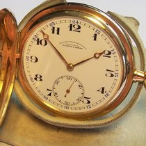 Frühe A. Lange & Söhne 585 14K Gold Taschenuhr TU 1920 1920 gebraucht