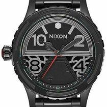 Nixon Tytan Automatyczny Czarny Arabskie 51mm nowość