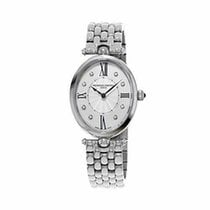 Frederique Constant Classics Art Deco Steel 34mm Mother of pearl Roman numerals United States of America, New Jersey, Somerset
