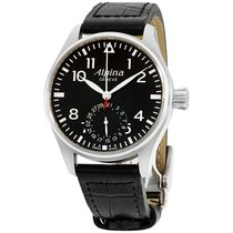 Alpina Startimer Pilot Manufacture Steel 44mm Black Arabic numerals United States of America, New Jersey, Somerset