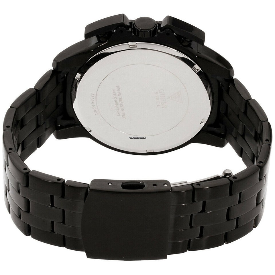 Guess Apollo Quartz Movement Black Dial Men's Watch W1114g1