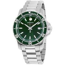 摩凡陀 鋁 石英 綠色 40mm 新的 Series 800