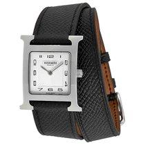 Hermès neu Quarz 26mm Carbon Saphirglas