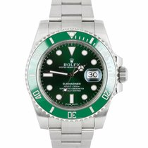 Rolex Submariner Date 116610 LV pre-owned