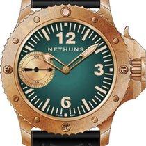 Nethuns 5.1.1.7.02 Nové Bronz 45mm Ruční natahování