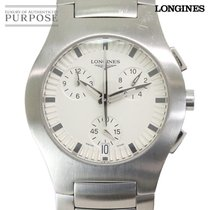 Longines Oposition Steel 38mm Silver