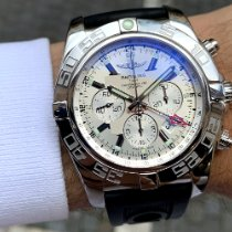 Breitling Chronomat GMT Steel 47mm White No numerals