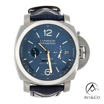Panerai pre-owned Automatic 50mm Blue Sapphire crystal 10 ATM