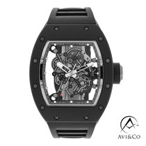 Richard Mille Ceramic Automatic Transparent No numerals 49mm pre-owned RM 055
