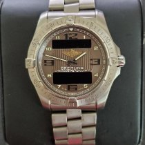 Breitling Aerospace Avantage Titanium 42mm Brown Arabic numerals