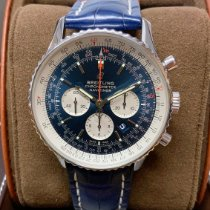 Breitling Navitimer 01 (46 MM) Steel 46mm Blue No numerals