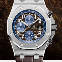 Audemars Piguet Royal Oak Offshore Chronograph Acero 42mm Marrón Arábigos