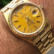 Rolex Day-Date 36 Or jaune 36mm Or Sans chiffres France, Hyeres