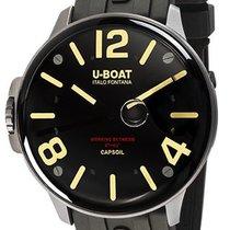 U-Boat Сталь 45mm Кварцевые 8110/A новые