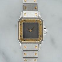 Cartier Santos Galbée Gold/Stahl Grau