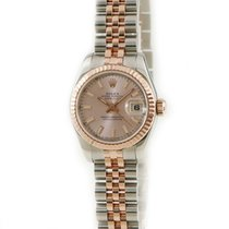 Rolex Or rose Remontage automatique Rose occasion Lady-Datejust