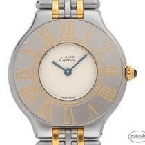 Cartier 21 Must de Cartier W1007 Very good Gold/Steel 31mm Quartz