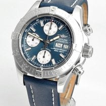 Breitling Superocean Chronograph II Steel 42mm Blue