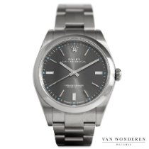 Rolex Oyster Perpetual 39 Staal 39mm Grijs Nederland, Purmerend
