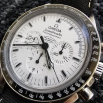 歐米茄 Speedmaster Professional Moonwatch 鋼 42mm 白色 無數字