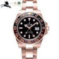 Rolex Oro rosa 40mm Negro