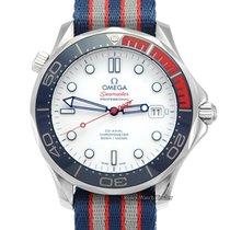Omega Seamaster Diver 300 M Acero 41mm Blanco Sin cifras