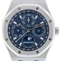 Audemars Piguet Royal Oak Perpetual Calendar Stahl 41mm Blau