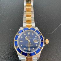 Rolex Submariner Date Goud/Staal 40mm Blauw Geen cijfers Nederland, Vinkeveen