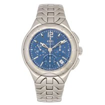Ebel pre-owned Automatic 40mm Blue Sapphire crystal 10 ATM