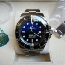 Rolex Sea-Dweller Deepsea Acier 44mm Bleu Sans chiffres France, VELIZY-VILLACOUBLAY