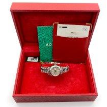 Rolex Lady-Datejust Stahl 28mm Silber Keine Ziffern Deutschland, Rheinstetten - Karlsruhe