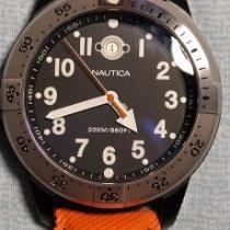 Nautica Stål 46mm Kvarts A14580 brukt