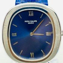 Patek Philippe Golden Ellipse 3589 Veldig bra Hvitt gull 36mm Automatisk
