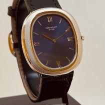 Patek Philippe Golden Ellipse Bjelo zlato Plav-modar Rimski brojevi