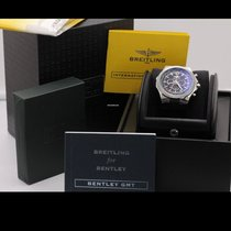 Breitling Bentley GMT Steel 49mm Black No numerals United States of America, New York, roslyn heights