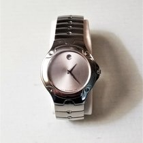 Movado Sports Edition Staal 38mm Zilver Geen cijfers