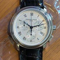 Frederique Constant Classics Chronograph Steel 40mm Silver