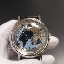 Breguet Classique Platinum 43mm Silver Roman numerals