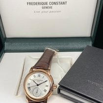 Frederique Constant Manufacture Classic Goud/Staal 42mm Zilver Romeins