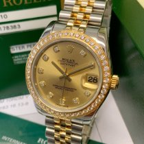 Rolex Lady-Datejust 178383 Very good Gold/Steel 31mm Automatic