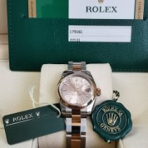 Rolex Lady-Datejust Or/Acier 26mm Rose Sans chiffres