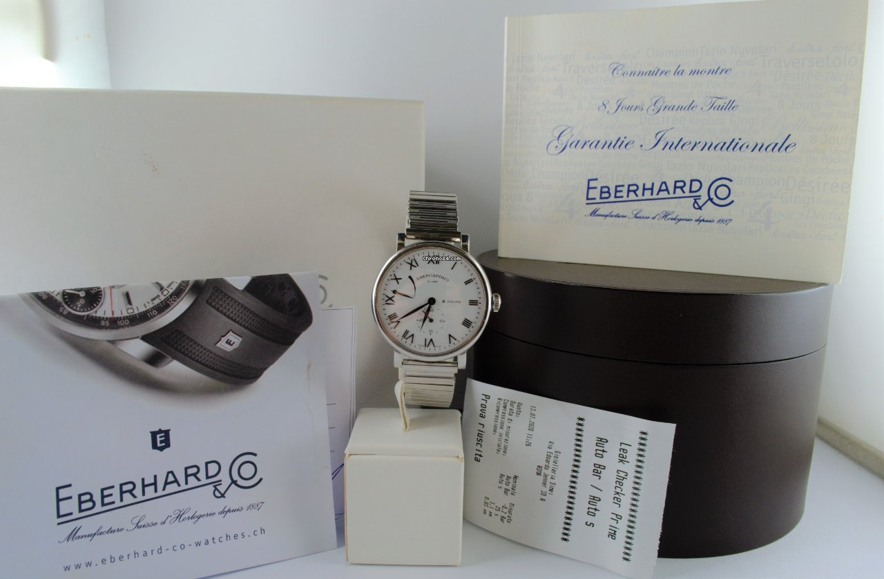 Eberhard & Co. 8 Jours 21027 2010 pre-owned