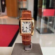 Cartier Tank Anglaise новые Кварцевые Часы с оригинальными документами и коробкой W5310027