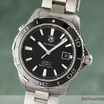 TAG Heuer Aquaracer 500M Stål 41mm Sort